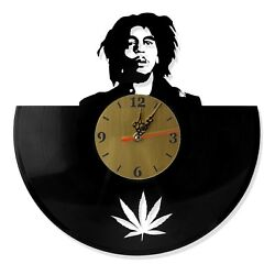 NEW Vinyl Record Wall Clock quot;Bob Marleyquot; modern decorative art 12quot;