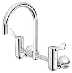 Caroma G-series Exposed Breech Wall Sink Set 65mm Lever Handle- 160mm Or 200mm