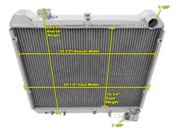 2 Row Best Cooling Champion Radiator For 1983 1984 1985 Mazda Rx-7