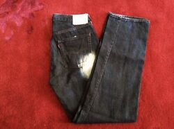 Levi's 501xx Selvedge Big E Tag34 X 36 Actual32x33 Made In Japan