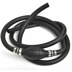 3/8 Fuel/gas Hose Line Assembly With Primer Bulb For Marine Outboard Boat Motor