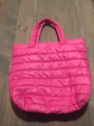 Old Navy Beach Bag Women's Summer Shoulder Solid Pink Pool Bag Tote One Size
