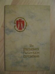 The Frederick Monsen Expeditions Booklet - Vintage 1913 American Indian Brochure
