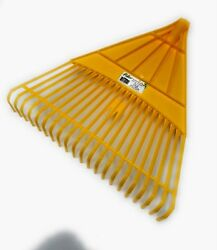 21 Tooth Large Durable Plastic Lawn Leaf Removal Yard Garden Rake Only Head