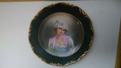 Fischer And Mieg Royal Vienna Porcelain Collectible Victorian Lady 1891 - 1918