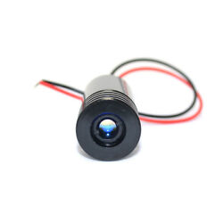 Adjusted Red Diodes 650nm 200mw Laser Dot Module 5vdc 18x45mm W/ Driver In