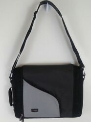 FORAY BRIEFCASE MESSENGER BAG CASE PADDED LAPTOP TABLET CARRY-ON STRAP 15x12