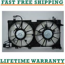 Radiator And Condenser Fan For Subaru Fits Outback Legacy Su3115132