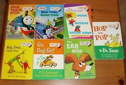 8 Bright and Early Board Books: Hop on Pop Dr. Seuss + PD Eastman + Al Perkins