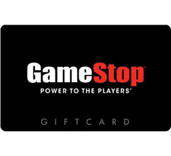 Gamestop Gift Card - 25 50 Or 100 - Email Delivery
