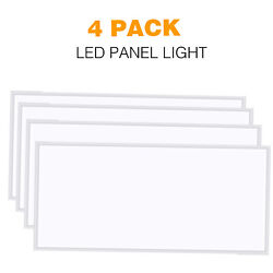 LED Panel Light 2x4FT 60W 5000k 6000LM 100~277V Recessed Dropped Ceiling Fixture