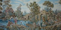 Rare 73 Large Wall Tapisserie Renaissance Style Tapestry Tapestries Antique