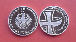 Germany 2015 150 Years Maritime Search And Rescue Service 10 Euro Silver Pp Coin