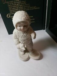 Dept 56 Snowbabies A Special Delivery 7948-0 Good Condition W/ Orig Box