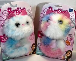 Pomsies Interactive Kitty Cat Sherbet And Snowball Lot Of 2 2018