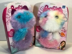 Pomsies Interactive Kitty Cat Sherbet And Boots Lot Of 2 2018 New Toy