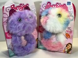 Pomsies Interactive Kitty Cat Sherbet And Speckles Lot Of 2 2018