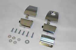 PREMIUM CHROME TOUR PAK LATCHES Same as 53000252 FIT HARLEY KING ULTRA RAZOR