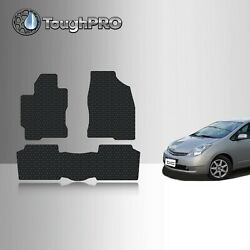 Toughpro Floor Mats Black For Toyota Prius All Weather Custom Fit 2004-2009