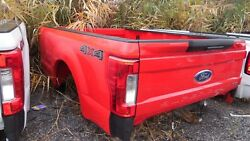 2017 Ford Super-duty Pickup Bed, 8' Bed, Single Rear Wheel, Race Red