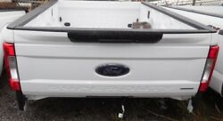 2017 Ford Super-duty Pickup Bed, 8' Bed, Single Rear Wheel, White