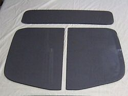 19461947 Ford Pick Up 3 Pc Glass Set Truck Door Glass Back Glass