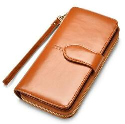 Women's PU Leather Wallet Clutch Credit Card Holder 4 Colors (BUY 2 GET 1 FREE)