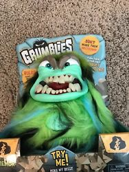 Grumblies Tremor Plush Interactive Toys New And Sealed