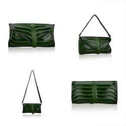 Women Clutch Clutches Designer Leaf Purse Leather Crossbody Bags For (22290