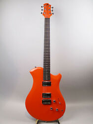 RELISH GUITARS Fiery A Mary with Piezo E.Guitar Free Shipping Orange Color