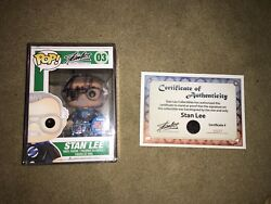 Funko Pop Stan Lee 2015 Nycc Exclusive 1500 Pcs Signed By Stan Lee And Coa