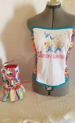 Matching Dog Mom Harnesses Corset Top Candyland Halloween dress puppy pride