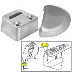 Tecnoseal Anode Kit Volvo Sx With Hardware Aluminum Polybag 20708al