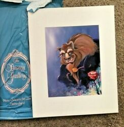 Disney Gallery Beauty And The Beast Signed The Beast Print By Eric Robison