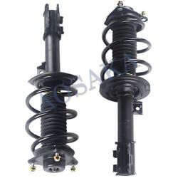 Front Quick Complete Struts And Coil Springs W/ Mounts Fit For 2011 Hyundai Sonata
