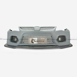 For 05-11 Honda FD2 EPA Style FRP Wide Body Front Bumper With Front Lip Parts