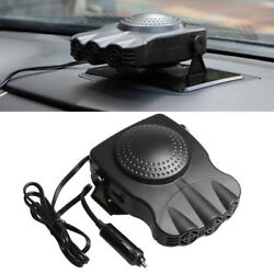 2*DC12V Car Auto Portable Electric Heater Heating Cooling Fan Defroster Demister