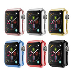 For Apple Watch iWatch Series 4 Silicone TPU Bumper Case Cover Protector 4044mm