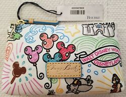 Dooney And Bourke Disney Sketch Make Up Bag * Cosmetic Case * New NWT