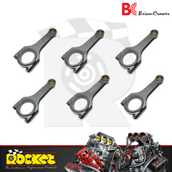 Brian Crower Sportsman H-beam Connecting Rods Fits Toyota 2jzgte - Bc6305