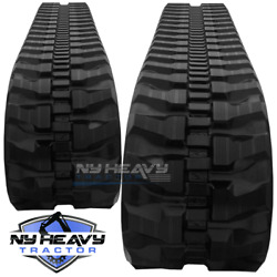 Two Rubber Tracks Fits Daewoo Solar 015 230x48x66 Free Shipping