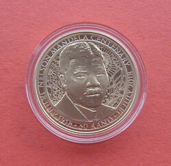 South Africa 2018 Nr Mandela As A Young Man 50 Rand Cualni Coin In Card