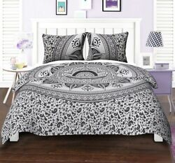 Mandala Bohemian Bed Cover Duvet Quilt Cover Set Bedding Set Twin Queen King