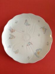 Mikasa Spring Melodies Butterfly Kiss Plate Platter