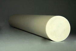 Abs Plastic Rod - 2 Dia. X 12 For Machining - Choose From 9 Colors