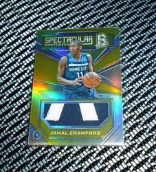 2017-18 Panini Spectra Jamal Crawford Spectacular Swatches Gold Patch 0810