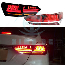 LED Tail Light Brake Turn signal Lamp Kit Assembly Fit For Toayota Camry 2018