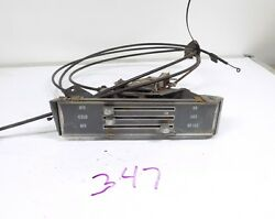 1968 68 1969 69 Chevy Chevelle Malibu SS Heater Control Assembly