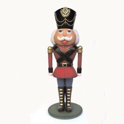 Toy Soldier Life Size Statue 7ft Christmas Yard Decor Display