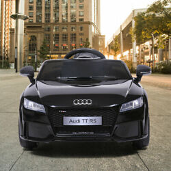 Electric Car Audi Tt Rs Kids Ride On 12v With Remote Control Mp3 Led Lights